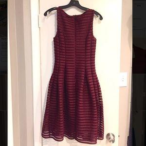 Ashley Graham Dresses - Burgundy Dress